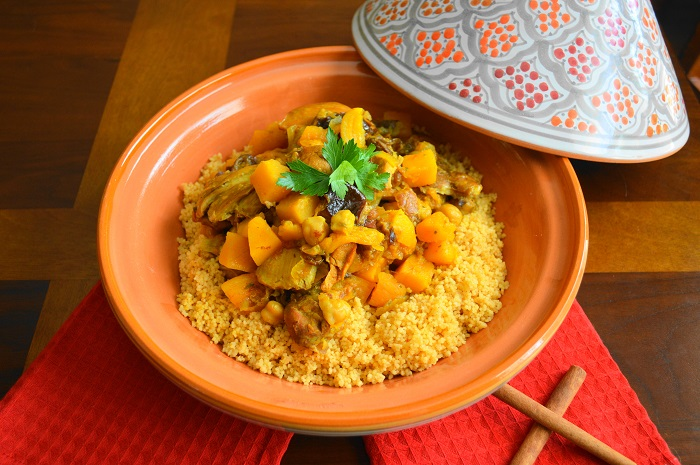 Moroccan chicken with couscous jeanie and lulu 39 s kitchen for Argana moroccan cuisine