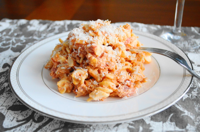 Crabmeat Vodka Sauce