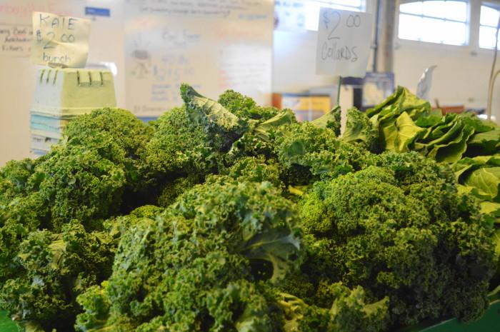 My favorite, gorgeous fresh kale!