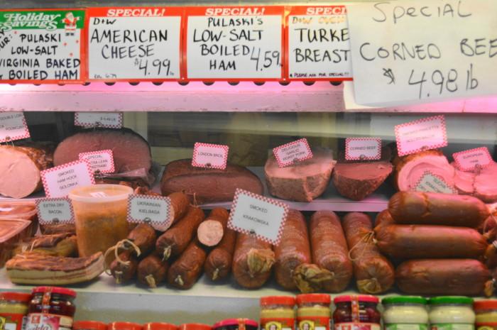 Pulaski's Deli is one of my favorite parts of the Trenton Farmer's Market.