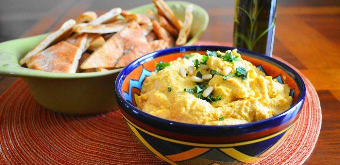 Roasted Butternut Squash Hummus