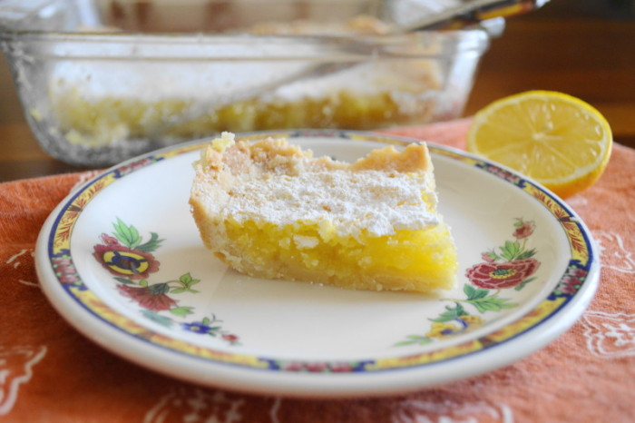 Luscious Lemon Coconut Bars