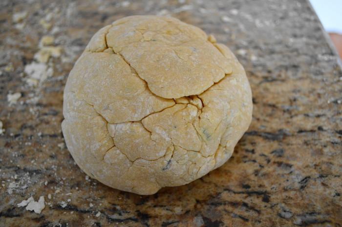 Pretty ball of pasta dough!