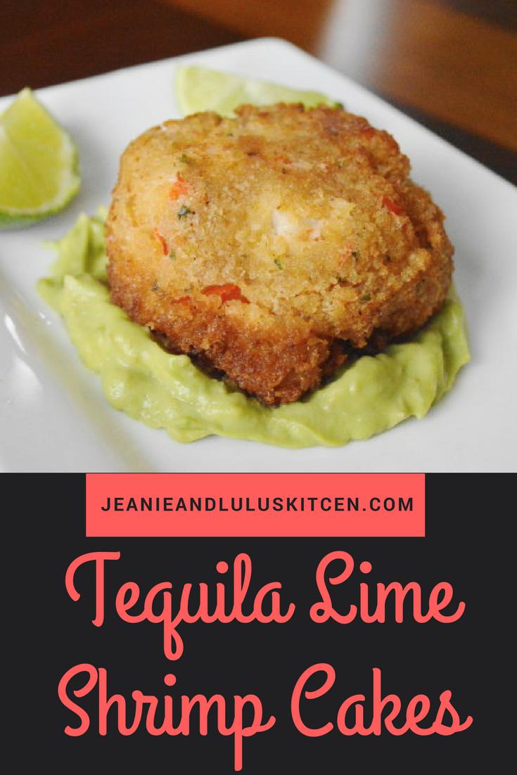 Tequila Lime Shrimp Cakes