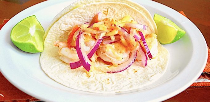Bang Bang Shrimp Tacos