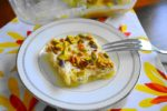 Goat Cheese, Apricot and Pistachio Squares