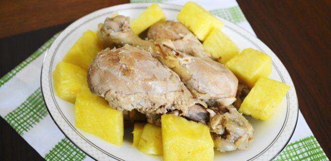Coconut Rum Braised Chicken