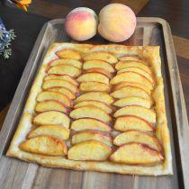 Easy Peach Tart