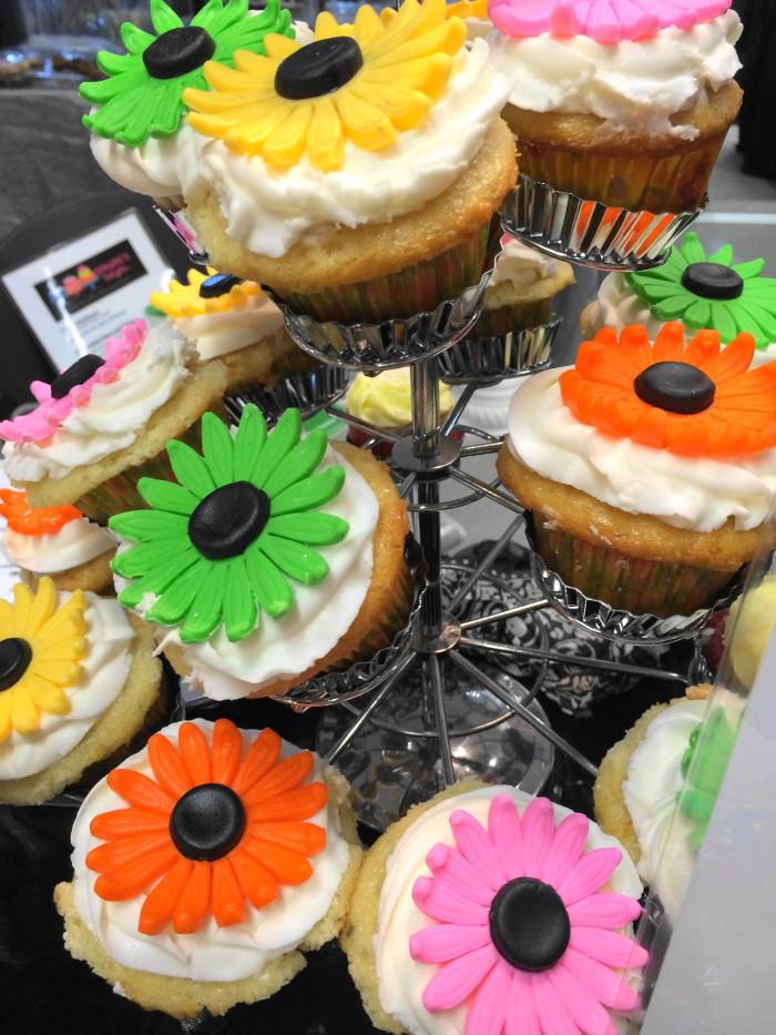 The cupcake display for Danjae's Delights. Just beautiful!