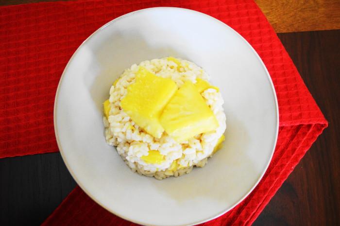 Creamy Pineapple Risotto