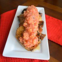 Seared Pork Chops with Peach Pineapple Salsa