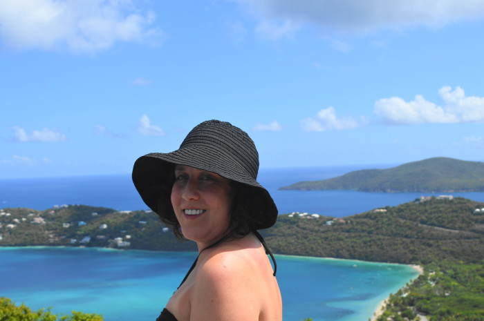 Overlooking Magens Bay in St. Thomas