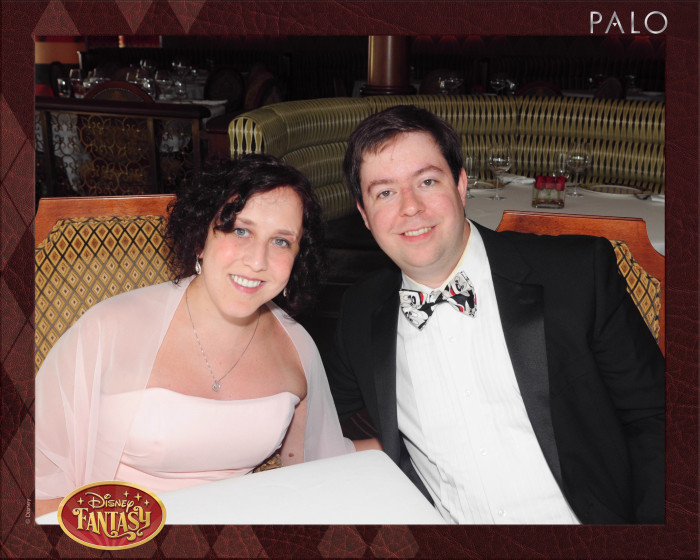 Marc and I at our anniversary dinner at Palo. We clean up nice!