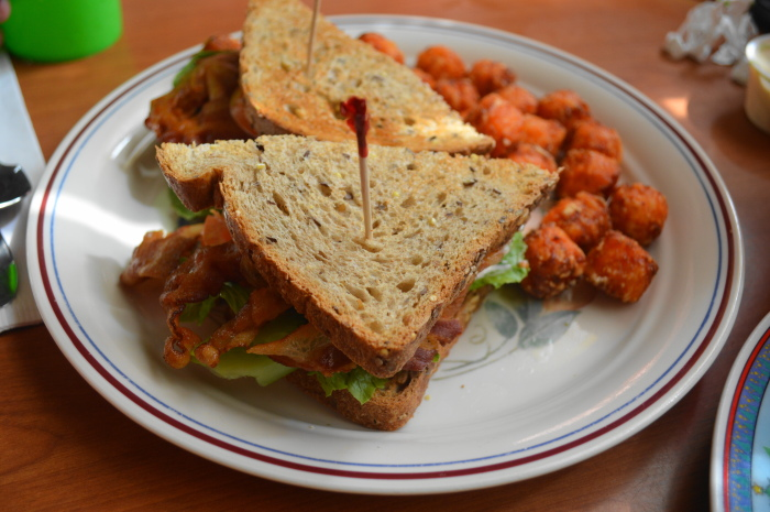 My mama's delicious BLT.