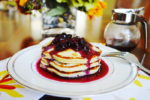 Blueberry Mascarpone Pancakes