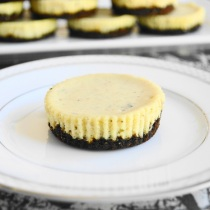 Lavender Mascarpone Mini Cheesecakes