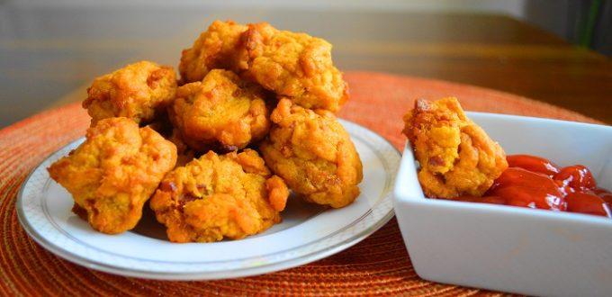 Sweet Potato Maple Bacon Fritters