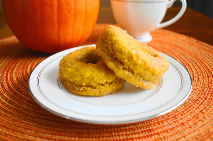 Baked Pumpkin Spiced Donuts