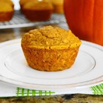 Pumpkin Spiced Ginger Muffins