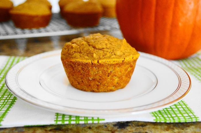 Pumpkin Spiced Ginger Muffins
