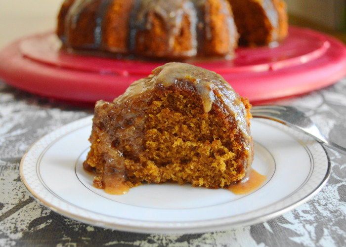 Spiced Sweet Potato Bundt Cake