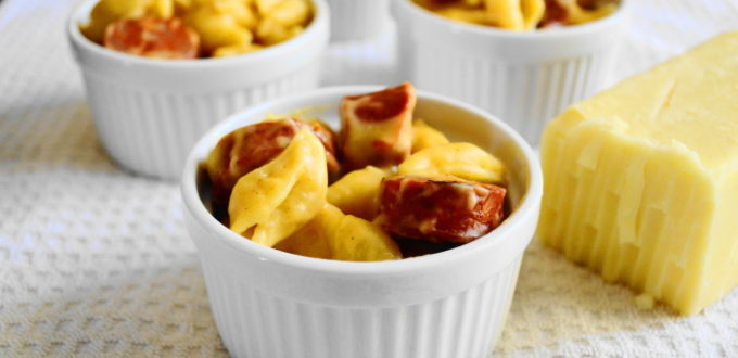 Pumpkin Sausage Mac and Cheese