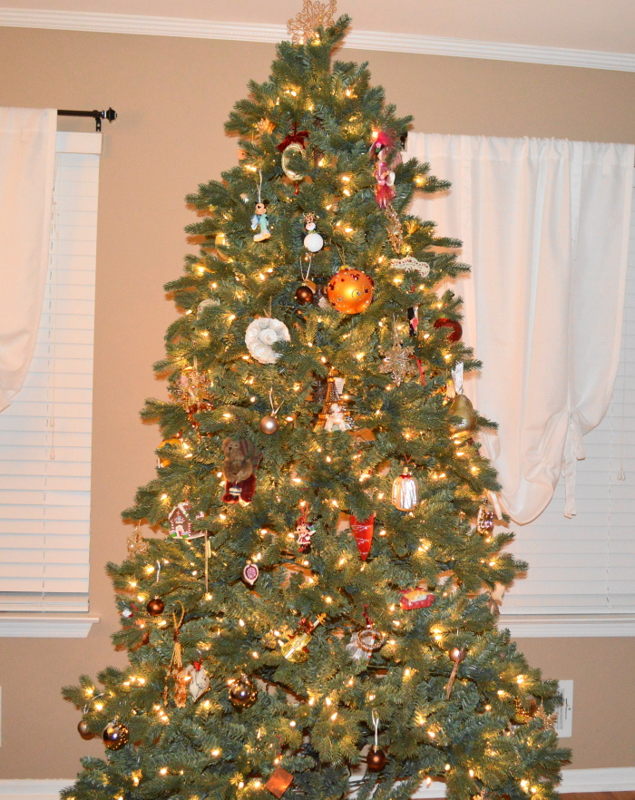 Christmas decorating isn't complete without a tree!