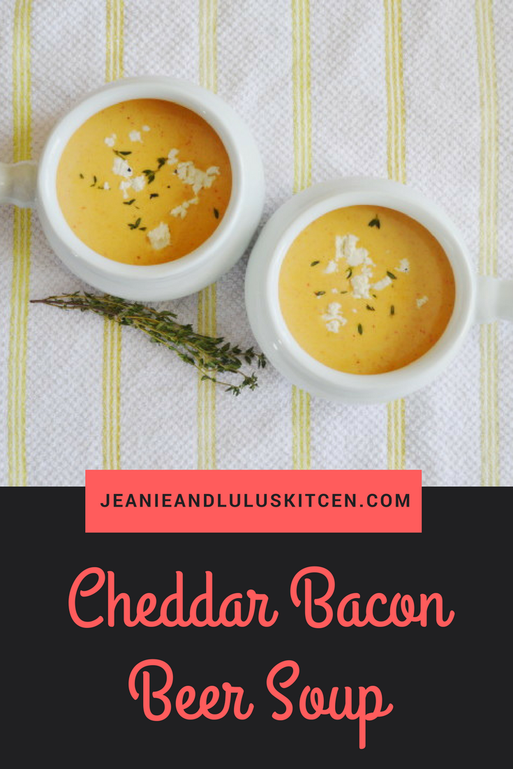 Cheddar Bacon Beer Soup