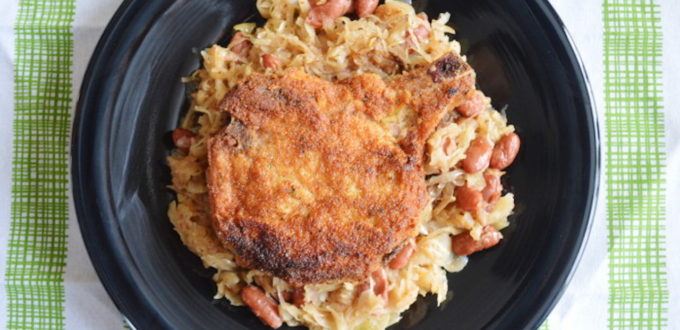 Nana's Pan Fried Pork Chops