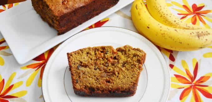 Banana Walnut Butterscotch Bread