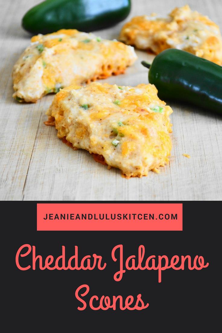 Cheddar Jalapeno Scones