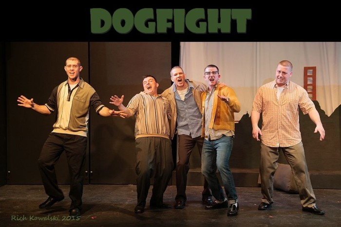 The handsome fellas of Dogfight! They are all super talented.
