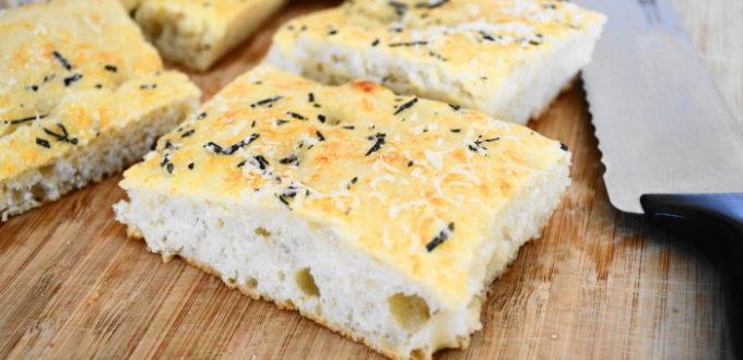 Parmesan Rosemary Focaccia Bread