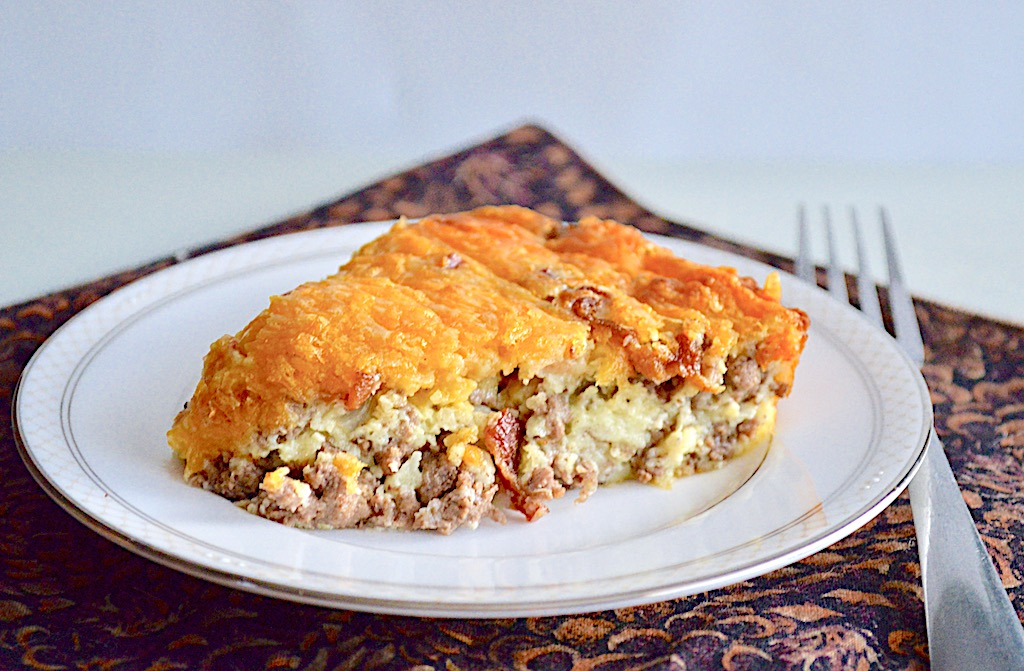Bacon Cheeseburger Pie