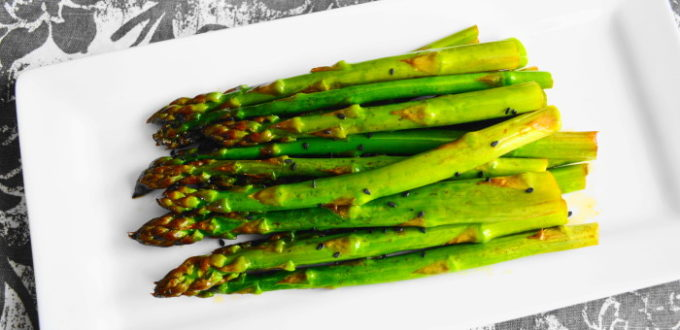 Asian Roasted Asparagus