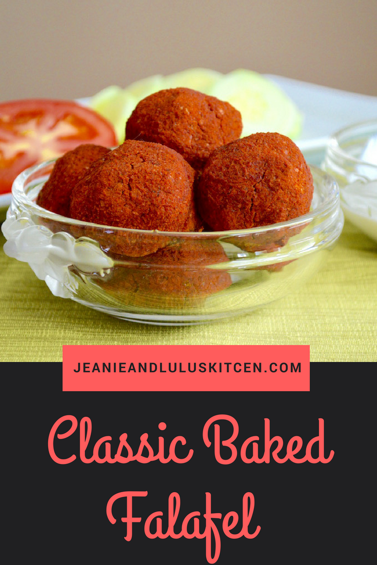 Classic Baked Falafel