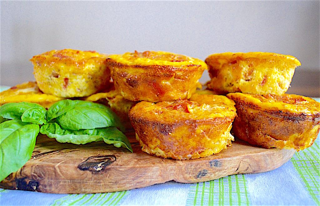Italian Omelette Muffins