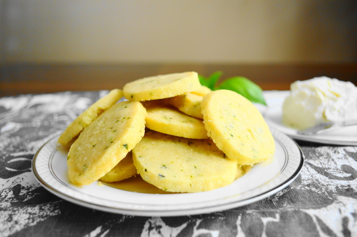 Parmesan Basil Crackers