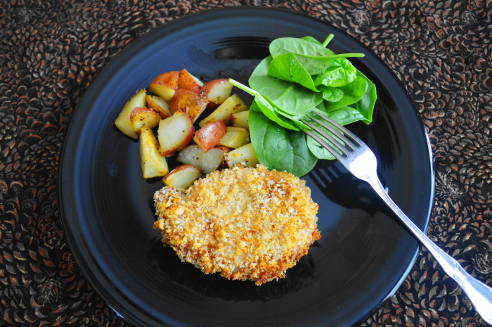 Asian Panko Crusted Pork Chops