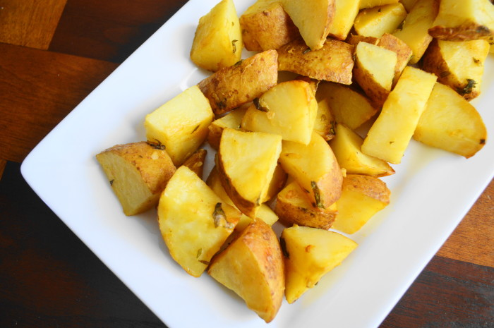 Mustard Tarragon Roasted Potatoes