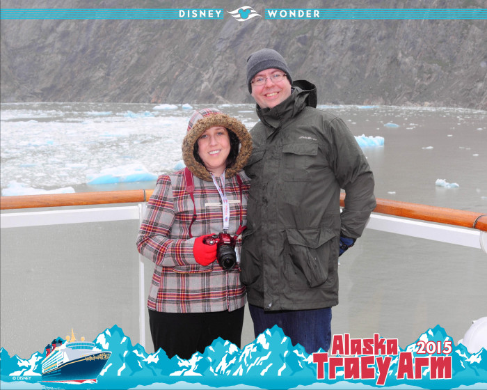 Tracy Arm was just incredible. We were bundled against the icy winds off of the glaciers but the crew kept everyone comfortable on deck with blankets, soup and hot cocoa.