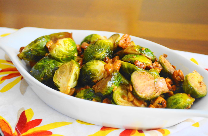 Asian Cashew Roasted Brussels Sprouts Jeanie And Lulu S