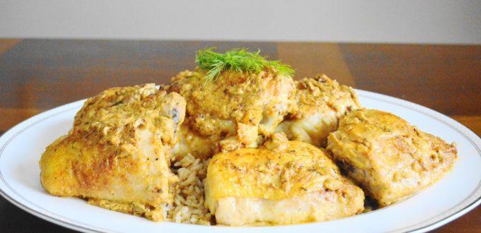 Chicken Thighs in Creamy Dijon Sauce