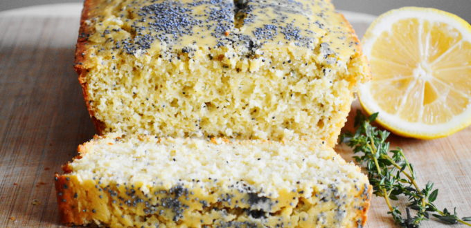 Herbed Lemon Poppy Seed Bread