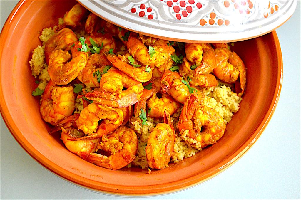 Moroccan Style Shrimp