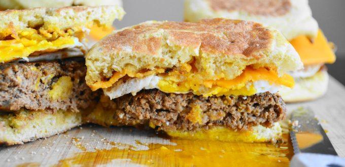 Homemade Breakfast Sausage Sandwiches