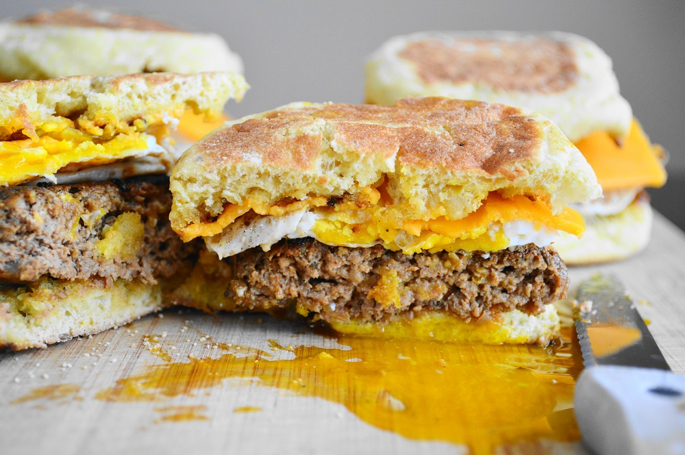 Homemade Breakfast Sausage Sandwiches