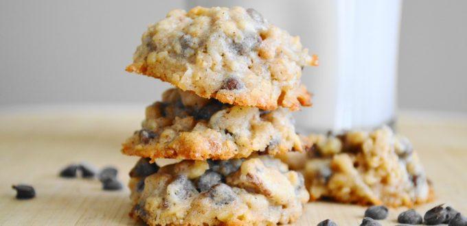 Chunky Granola Cookies