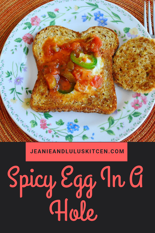 Spicy Egg In A Hole