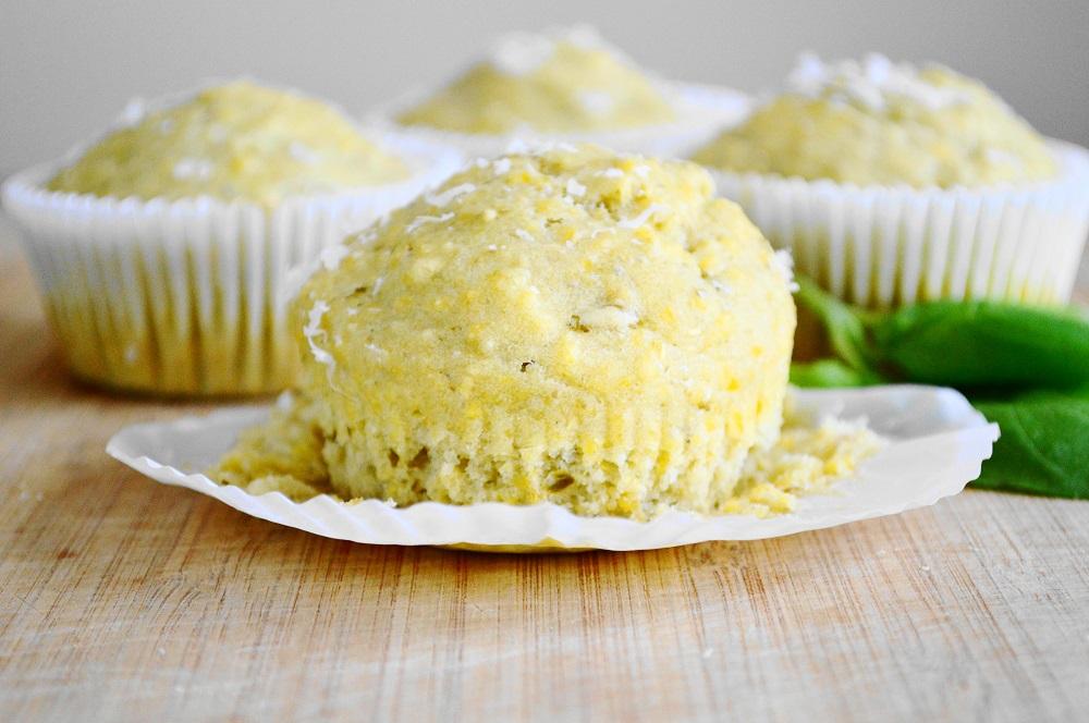 Parmesan Pesto Muffins